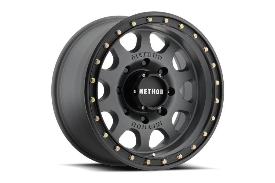 Method Race Wheels MR311 Titanium Vex non-Beadlock Wheel, Matte Black 17x8.5 5x5  (Part Number:MR31178550800)