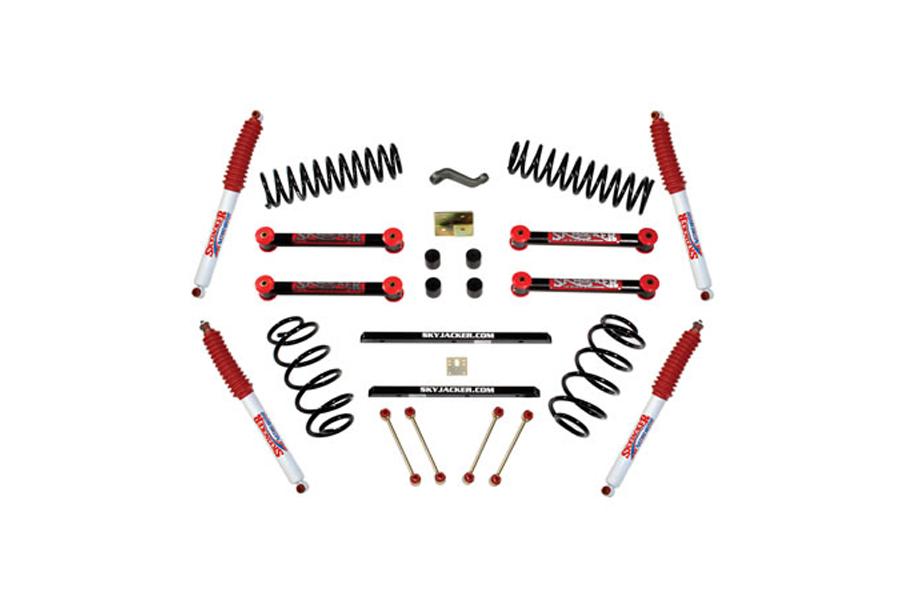Skyjacker Suspension Sport Lift Kit w/Hydro Shocks 4in Lift - TJ 1997-02