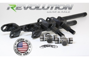 Revolution Gear D30 30-Spline Front Axle Kit - TJ/LJ Non-Rubicon