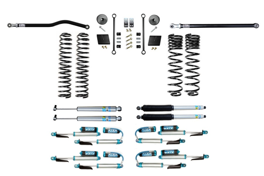 Evo Manufacturing 2.5in Enforcer Stage 1 Plus Lift Kit w/ Shock Options - JT Diesel