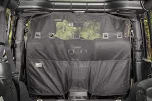 Rugged Ridge C2 Cargo Curtain, Front - JK