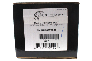 UnderCover Inc. NightHawk Light Brow Bright White (Part Number: )