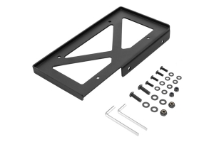 Rugged Ridge Universal Rear Bumper License Plate Holder