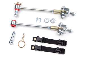 Zone Offroad Front Sway Bar Disconects 3-4.5in Lift (Part Number: )