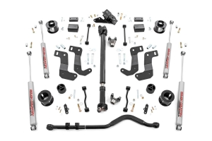 Rough Country 3.5in Suspension Lift Kit Stage 2 - JL