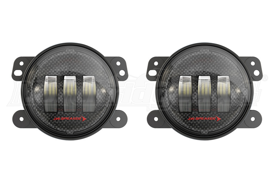 Jw Speaker Lights : Jeep jk jw speaker j led carbon fiber in fog