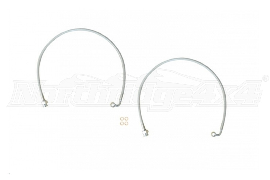 EVO Manufacturing Rear Brakeline Pair 2-5in Lift - JT