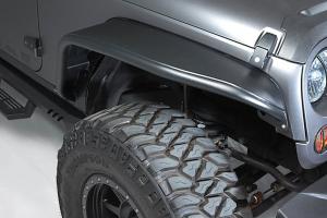 Bushwacker Aluminum Tube Fender Flares Front and Rear Lights Included ( Part Number: 10930-19)