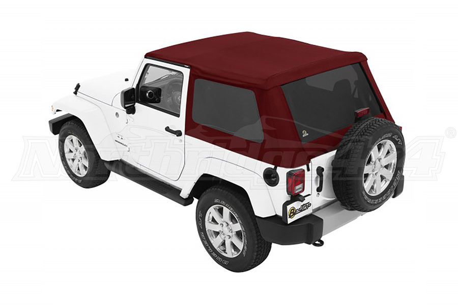 Trektop NX Plus (Crushed Red Pepper) Jeep 07-17 Wrangler 2-Door (Part Number:56852-68)