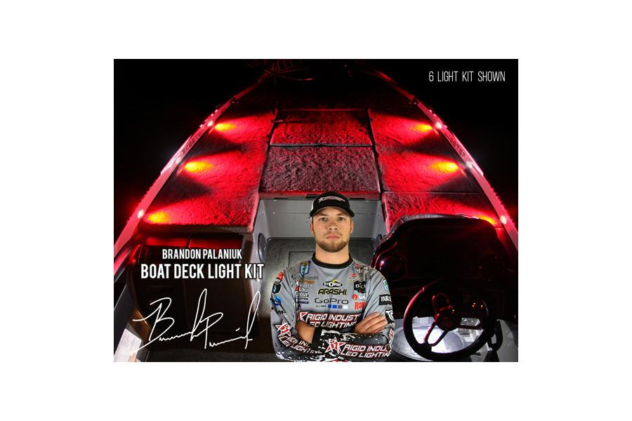 Rigid Industries Brandon Palaniuk A-Series Deck Light Kit Red (Part Number:400783)