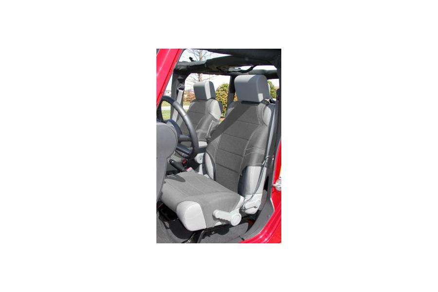Rugged Ridge Front Seat Vests Grey - JT/JL/JK