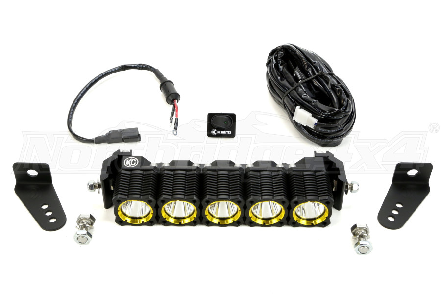 KC Hilites Flex Array LED Light Bar 10 (Part Number:275)