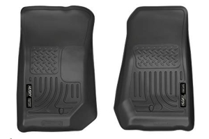 Husky Liners Front Floor Liners Black Front Row (Part Number: )