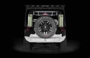 LOD Signature Series Armor Lite Gen 4 Full Width Rear Bumper w/Tire Carrier Bare Steel (Part Number: )