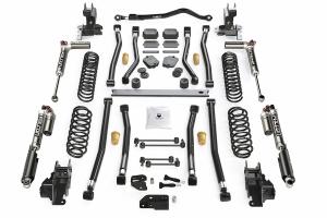 Teraflex Alpine CT4 4.5in Long Arm Lift Kit -  w/Falcon SP2 3.3 Adj. Shocks - JL 4dr