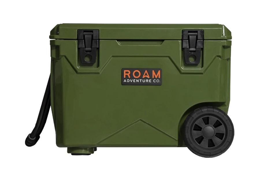 Roam Rolling Rugged Cooler, 50qt - OD Green