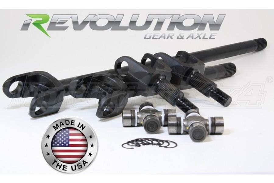 Revolution Gear D44 30 Spline Front Axle Kit   - JK Rubicon Only