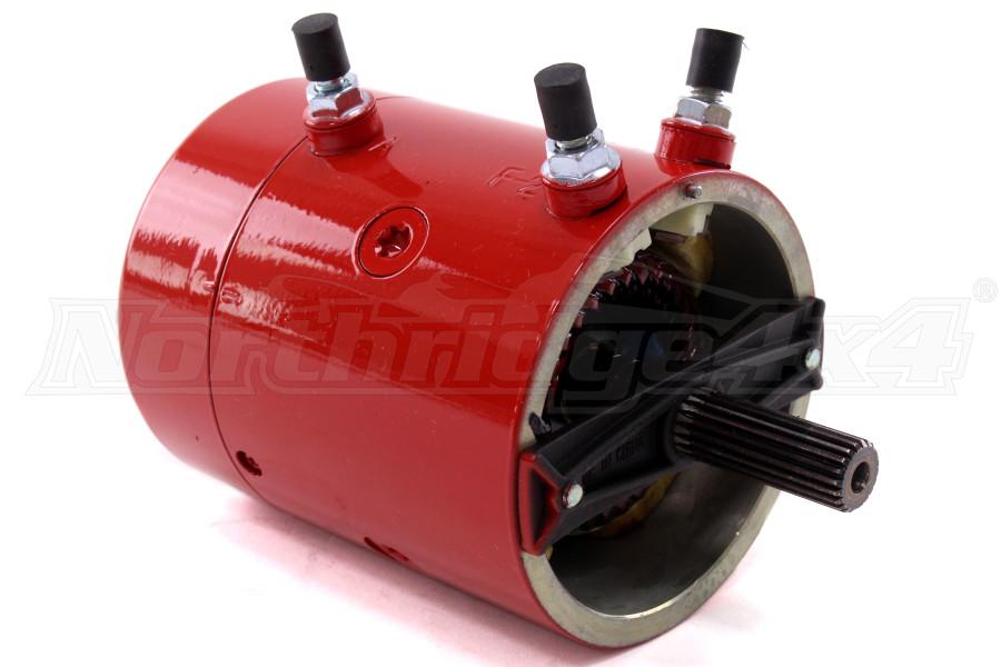 Warn Replacement Winch Motor Red (Part Number:70784)