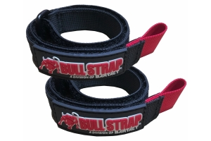 Bartact 1in x 20ft Bull Strap Adjustable Bull Wrap Tie - Pair of 2