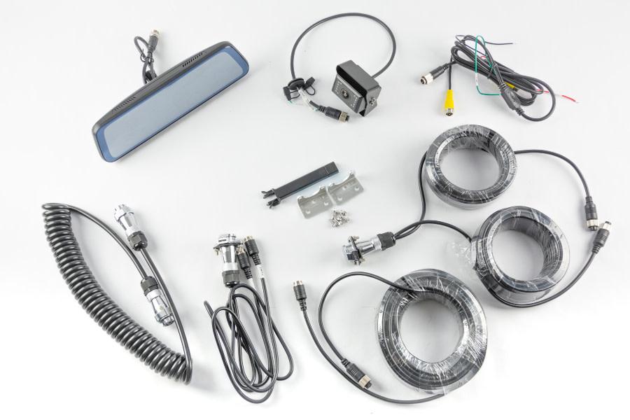 Brandmotion Transparent Trailer Rear Vision System