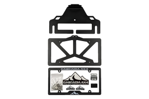 Cascadia 4x4 Flipster V3 Winch License Plate Mounting System