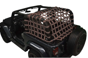 Dirty Dog 4x4 Rear Netting Sand (Part Number: )