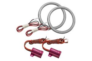 Oracle LED Surface-Mount Fog Light Halo Kit - Amber - JT/JL and JK w/ Factory LEDs