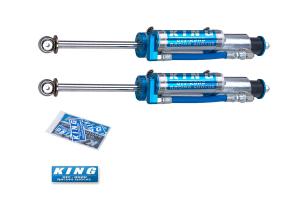 King Shocks 2.5 OEM Performance Series Front Shocks w/Piggy Back Reservoir 0-2in Lift (Part Number: )