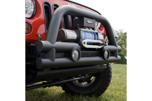 Rugged Ridge Stubby 3in Front Tube Bumper (Part Number: )