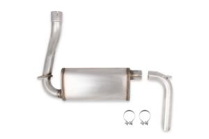 Hooker Blackheart 2.5in Axle-Back Exhaust Kit w/ Muffler - JL 3.6L