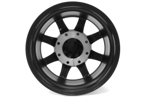 Moto Metal Wheels MO970 Semi Gloss Black w/Milled Spokes 18x10 8x180 (Part Number: )