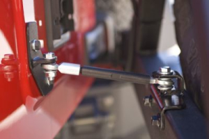 Rugged Ridge XHD Rear Bumper Tire Carrier Linkage - TJ/LJ/Y