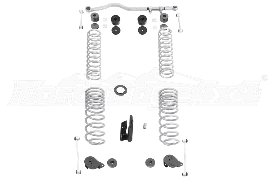 Rubicon Express 2.5-3.5in Standard Suspension Lift Kit - No Shocks - JT