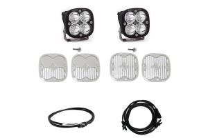 Baja Designs Squadron Sport Series A-Pillar Light Kit w/ Upfitter  - Bronco Sport