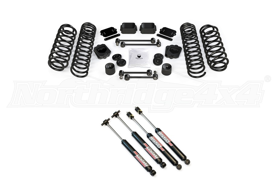Teraflex 2.5in Spring Base Kit w/9550 Shocks - JL 4dr
