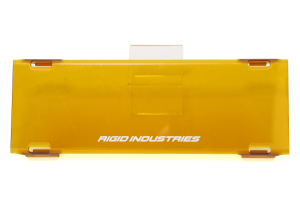 Rigid Industries 10in E-Series Light Cover Amber ( Part Number: 11093)