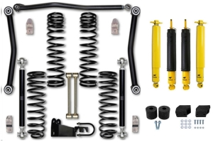 Rock Krawler 3.5in Adventure Series 2 Lift Kit Package w/Shock Options - JK 4dr