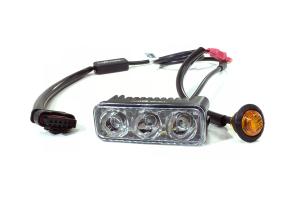 Quake LED DRL Fender Lights w/ Switchback Turn Signal - JL/JT