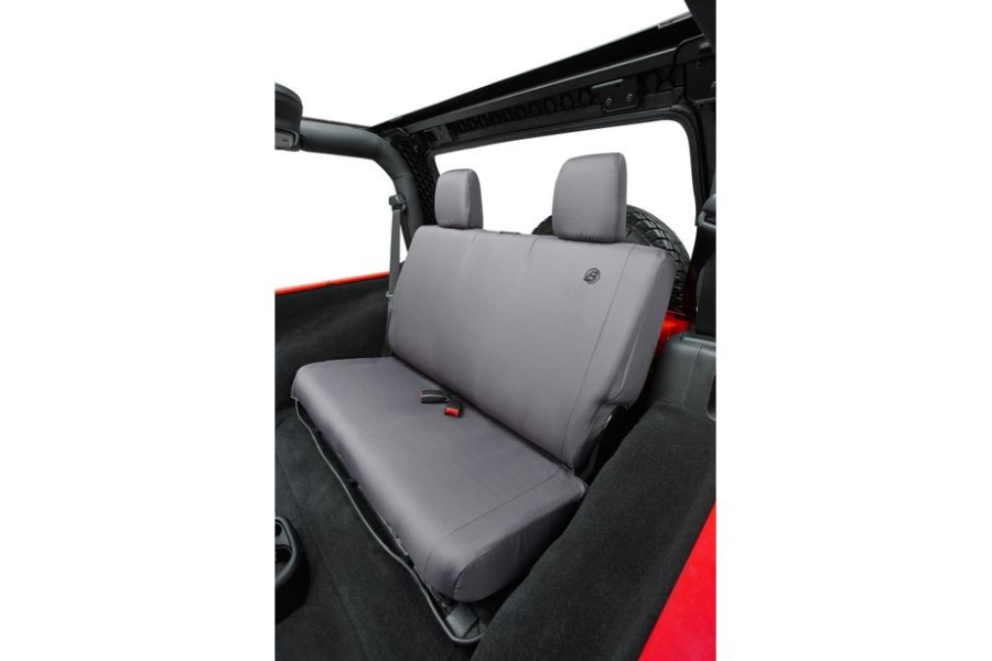 Bestop Rear Seat Cover Charcoal  - JK 4dr 2008-12