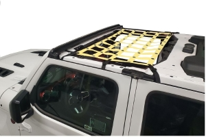 Dirty Dog 4x4 Front Seat Netting-Yellow - JT