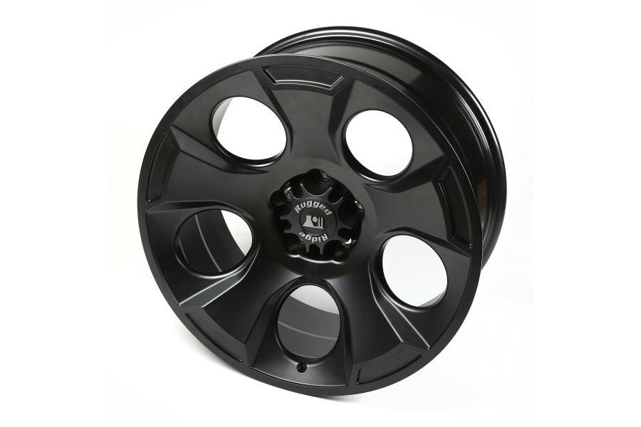 Rugged Ridge Drakon Black Satin Wheel 20x9 5x5 (Part Number:15304.01)