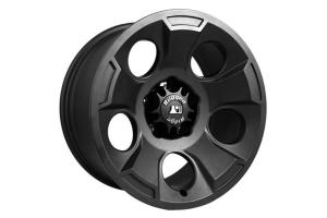 Rugged Ridge Drakon Black Satin Wheel 17x9 5x5 - JK/JL/JT