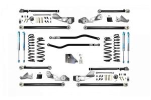 Evo Manufacturing HD 4.5in High Clearance PLUS Long Arm Lift Kit w/ King 2.0 Shocks - JL 4Dr