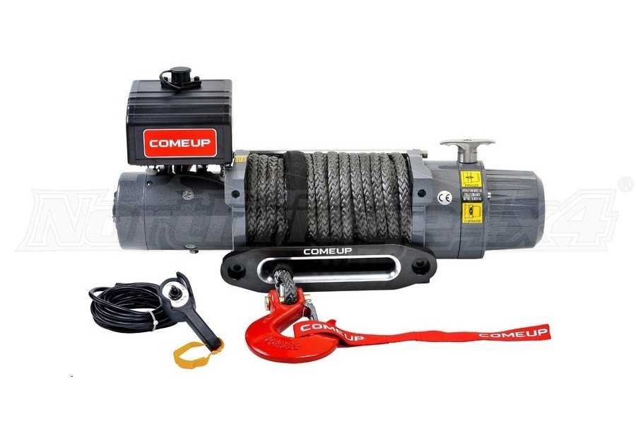 Comeup DV Light Premium Series Recovery Winch w/ Synthetic Rope  (Part Number:850112)