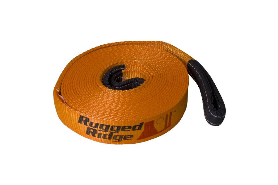 Rugged Ridge Recovery Strap 3-Inch X 30 Feet