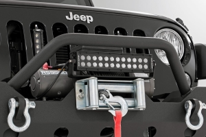 Rough Country 12in Roller Fairlead Light Bar Mounting Bracket (Part Number: )
