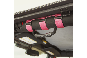 Rugged Ridge Ultimate Grab Handles, Pink (Part Number: )