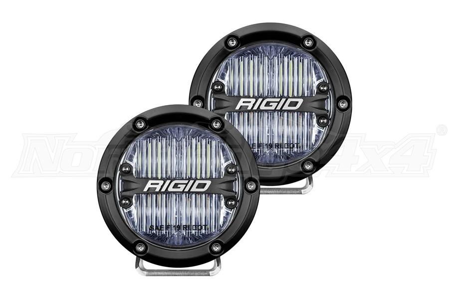 Rigid Industries 360-Series 4in OEM Fog LED Lights, White - Pair