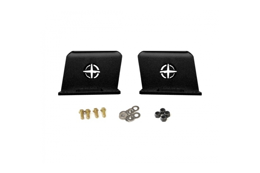 EVO Manufacturing 3in Rear Bump Stop Extension Pair - JT