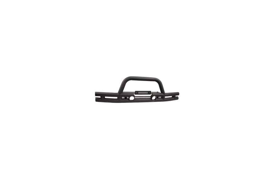 Rugged Ridge Double Tube Bumper w/Winch Mount (Part Number:11561.11)